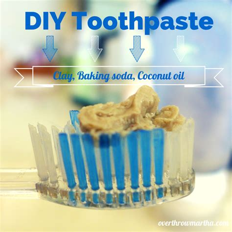 Http Www Overthrowmartha 2014 02 Dirt Bentonite Clay Detox Html by Diy Toothpaste With Baking Soda And Bentonite Clay