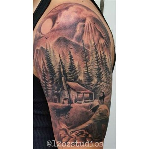 outdoor tattoo designs outdoor themed tattoos
