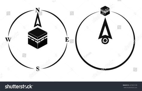 Arrow Moeslem qibla muslim prayer direction kaaba direction mecca