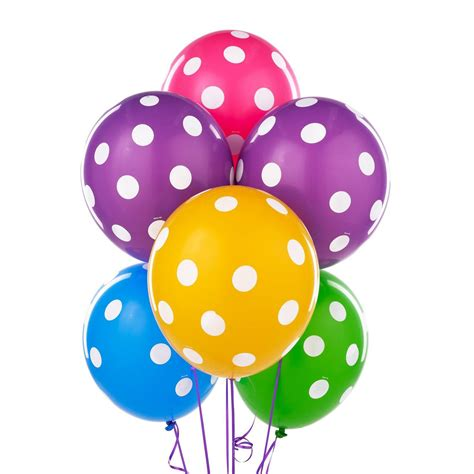 Balloon Polka polka dot balloons favors ideas