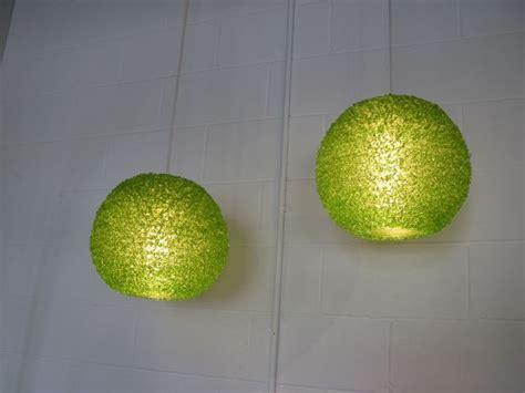 lime green lights metro modern spaghetti lime green lucite pendants