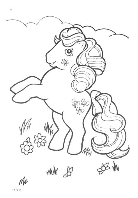 vintage my little pony coloring pages my little pony g1 coloring pages a photo on flickriver