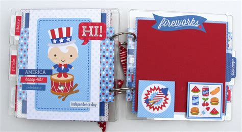doodlebug albums all scrapbook steals the doodlebug patriotic