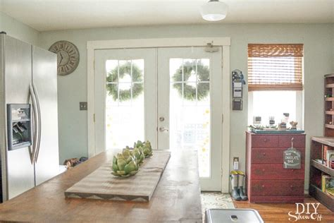 White Country Kitchen Ideas eclectic vintage modern farmhouse kitchen diy show off