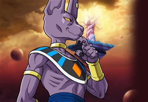 dragon ball z beerus wallpaper yoda vs beerus spacebattles forums