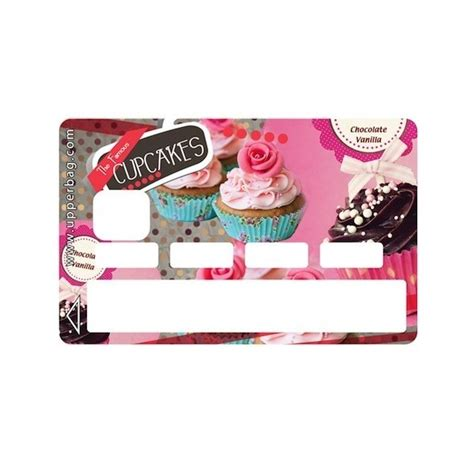 Tas Travel Pouch Decals 0 1 Cb sticker credit card sweety cupcakes vintage upperbag