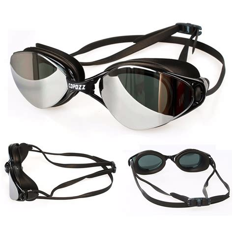 kacamata renang anti fog uv protection gog 3550 black