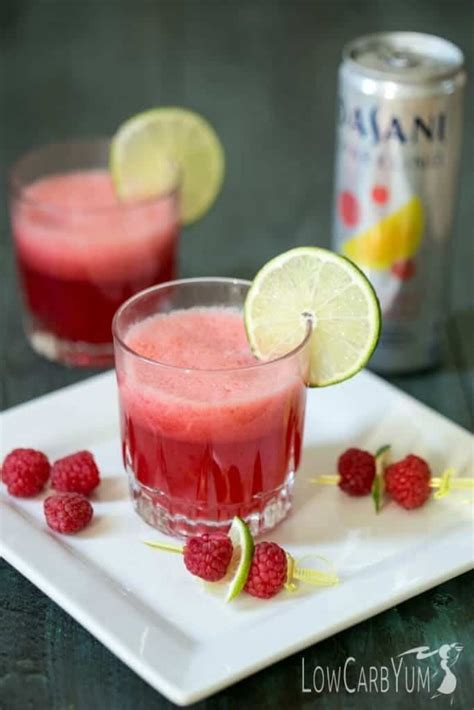 sparkling raspberry limeade mocktail low carb yum sparkling raspberry limeade mocktail low carb yum