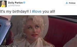 Big hair big day dolly sent some love to fans with a gif of herself