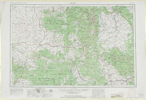 topographical map of colorado springs craig topographic maps co usgs topo 40106a1 at 1