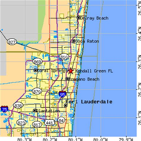 zip code map kendall florida kendall green florida fl population data races