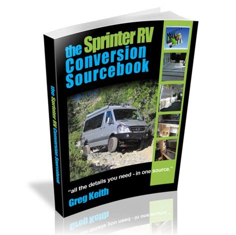 rv necessities for timers books build your own cer sprinter rv