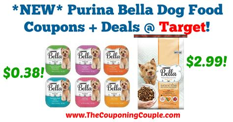dog food coupons digital new purina bella dog food coupons deals target