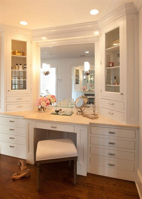 bathroom with makeup vanity the makeup vanity design home decorating