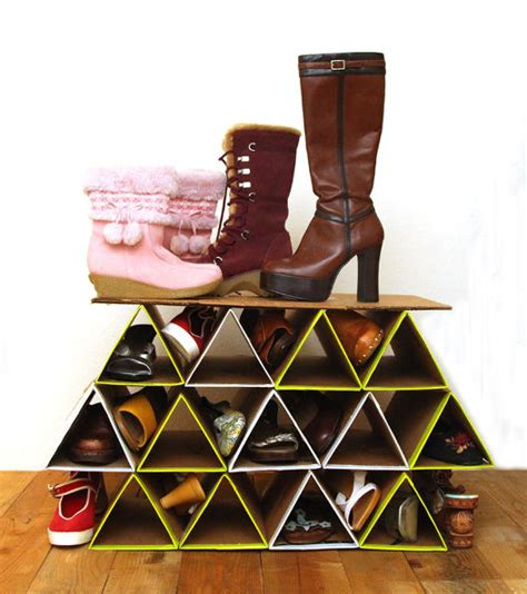 diy closet shoe rack hometalk diy space saving shoe rack