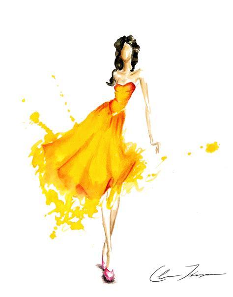 fashion illustration nyc fashion illustration image yellow burst jpg new york