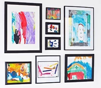 displaying kids artwork how to display kids artwork storing and displaying children s art child shop and