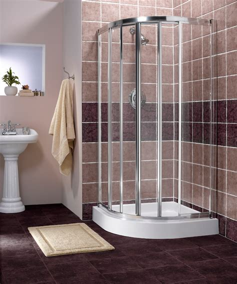 Bathroom Corner Shower How Can Corner Shower Save Space Bath Decors