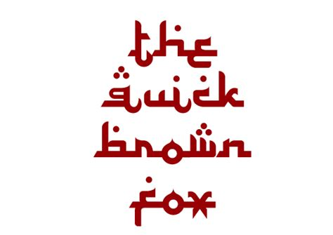 Arabic Fonts: 60  Fonts Available For Download (Free and