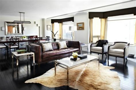 Zimmer Schön Einrichten by Wohnzimmer Einrichten Modernes Designer Sofa Aus Leder
