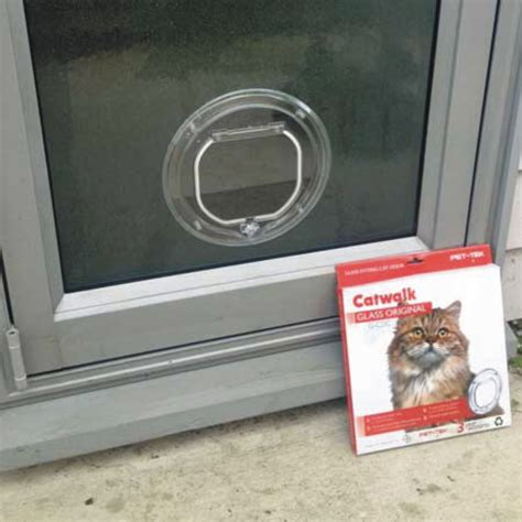 Pet Doors For Cats by Small Cat Door For Glass Supplied Installed Adelaide
