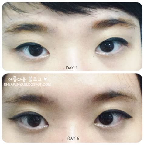 Tony Moly 7 Days Tatto Eyebrow review tony moly 7 days eyebrow ms rhea s