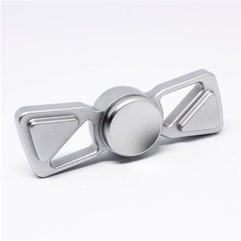 Spinner Stainless Steel Grey Fidget Putaran Lama duality fidget spinner with r188 removable bearing fidget hq
