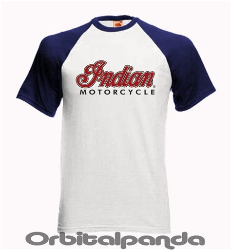 Tshirt In India Baseball T Shirt Ss With Indian Motorcycle Logo