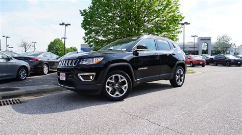 jeep compass 2018 black 2018 17 jeep compass limited 4x4 review