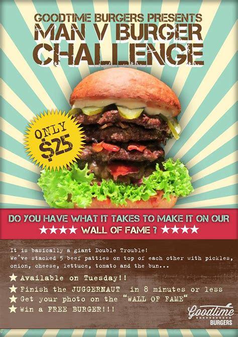 food challenges sydney goodtime burgers juggernaut burger challenge bondi