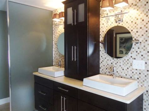 Countertop Bathroom Storage by Bathroom Photos Hgtv
