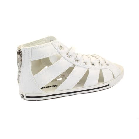 converse sandals converse chuck gladiator 537050 womens laced zip
