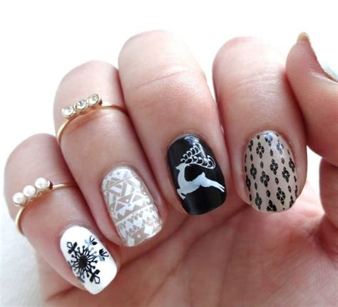 christmas pattern nail st top 10 festive christmas nail art patterns to copy right now