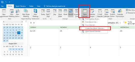Create New Calendar In Outlook New Outlook Calendar Personal Outlook Calendar Are