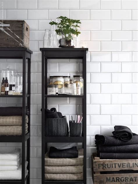Powder Rooms Design Tips For Small Bathrooms Bathroom Shelving Ikea