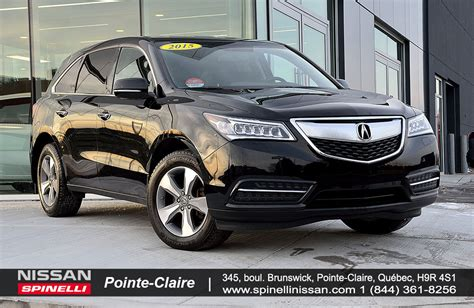 nissan acura 2015 2015 acura mdx sh awd d occasion 224 vendre spinelli