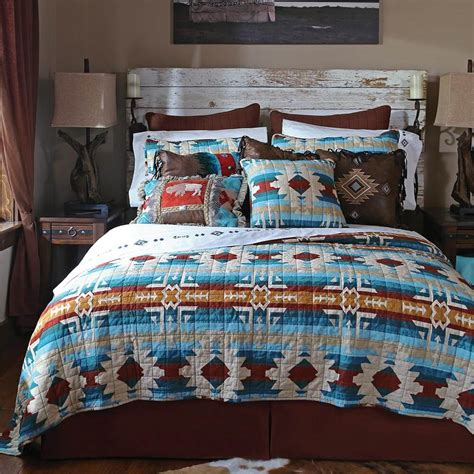 bedding quilts sets southwest lodge quilt collection bedding set