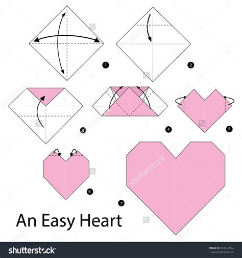 Origami Steps For - origami easy www pixshark images