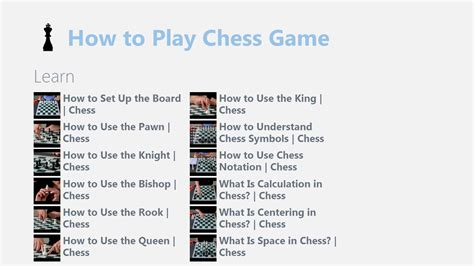 how to play chess a how to play chess for windows 10 free on