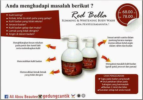menjual produk kecantikan  kesihatan red bella body wash