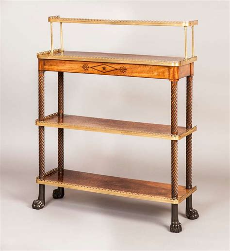 etagere l nglich antique mahogany etagere or stand with shelves for