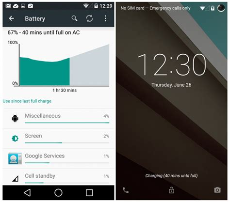 android lollipop vs android kitkat new features android lollipop vs android kitkat new features
