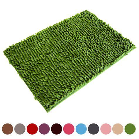 soft shaggy non slip absorbent bath mat bathroom shower aliexpress com buy soft shaggy non slip absorbent bath