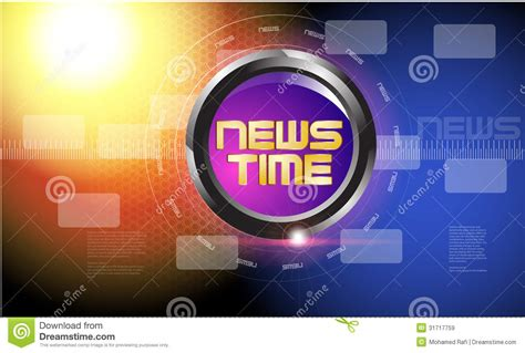 news intro template news intro news report powerpoint