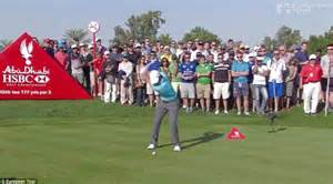mcilroy golf swing rory mcilroy hits first hole in one of his career in
