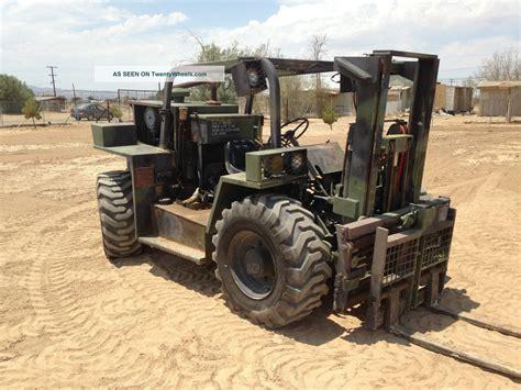 5k light capacity rough terrain forklift lcrtf 4x4 forklift diesel ex military