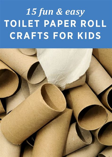 toilet paper 15 15 fun easy toilet paper roll crafts for kids toilet