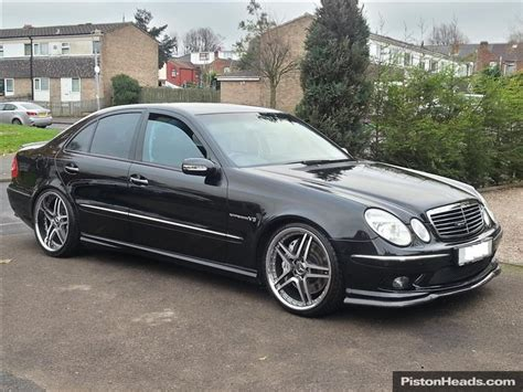 2003 mercedes e55 amg object moved