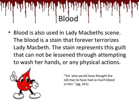 motifs in macbeth blood act 5 of macbeth