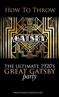 themes found in the great gatsby use this 1920s inspired invitation template for a gatsby